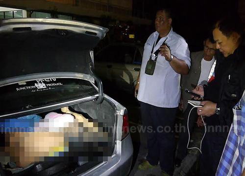 ฆ่าโหดเจ้ามือหวยราชบุรีทุบหน้าเละยัดศพท้ายรถทิ้งคลอง