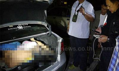 ฆ่าโหดเจ้ามือหวยราชบุรี ทุบหน้าเละ ยัดศพท้ายรถทิ้งคลอง