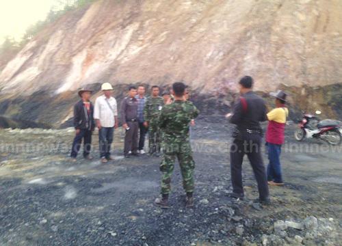 ทหารลุยตรวจสอบป่าชุมชนชาวบ้านหวั่นถูกฮุบ
