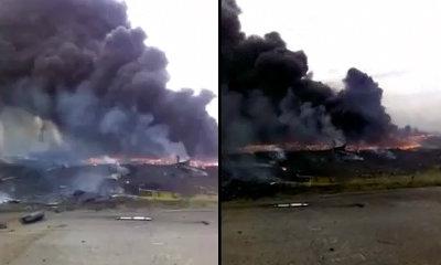 เผยคลิปใหม่ นาทีเครื่องบิน MH17 ถูกยิงตกในยูเครน