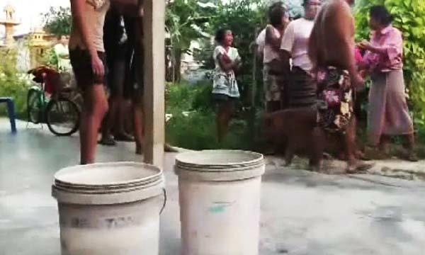 แม่ใจสลาย! เดินไปเข้าห้องน้ำได้ 5 นาที กลับมาลูกวัยขวบครึ่งจมน้ำในกระป๋องสีดับอนาถ