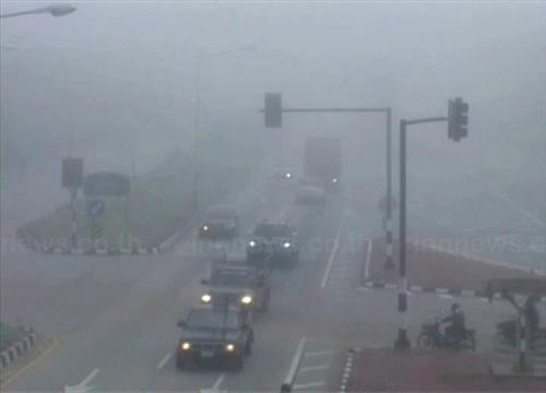 อุตุเผยไทยตอนบนอากาศเย็นมีหมอกตอนเช้า