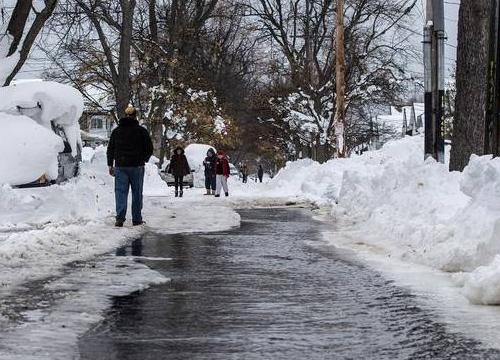 สหรัฐฯเตือนปชช.ระวังน้ำท่วมซ้ำหลังอุณหภูมิสูงขึ้น