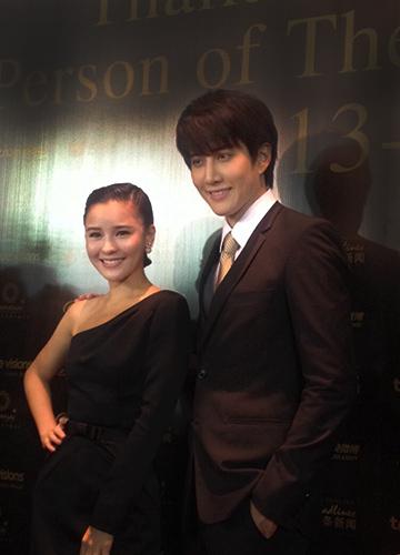 ไมค์-ออม ดีใจได้รับรางวัลดาราไทยมีชื่อเสียงในประเทศจีน