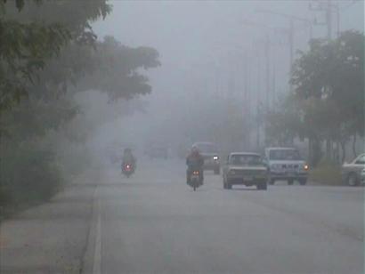 ไทยตอนบนอุณหภูมิสูงขึ้นเช้ามีหมอกอีสานตอ.ใต้ฝนตก