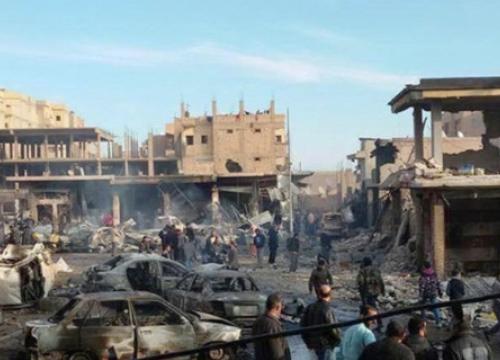 รบ.ซีเรียโจมตีISISปชช.เจ็บ120ดับเกือบ100