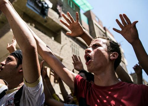 จำคุกวัยรุ่นอียิปต์เกือบ80คนเดินขบวนประท้วงรบ.