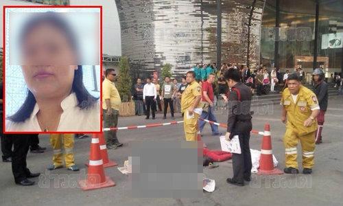 รถทัวร์จีนทับไกด์สาวดับ คาลานจอดรถย่านพระราม 9