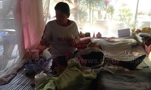 แม่วอนช่วยลูกชาย เหยื่อแก๊งเด็กแว้น
