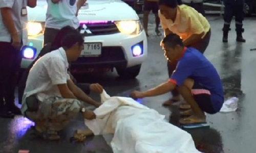 เศร้าสลด! หนุ่มพลเมืองดีวิ่งช่วยเหตุรถชน รถตู้เสยซ้ำดับ