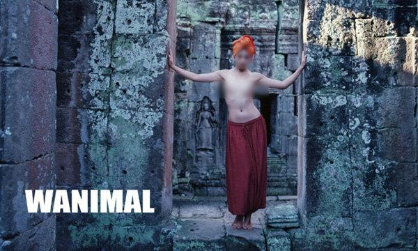 องค์การอัปสรากัมพูชาประณามภาพสาวเปลือยอกในโบราณสถาน