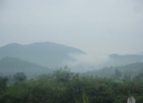 อุตุฯเผยช่วงเย็นอากาศอุ่นขึ้นหมอกหนาทั่วไทย