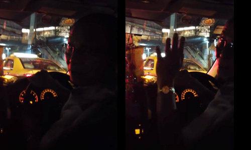 แฉอีก! แท็กซี่ใช้ผ้าบังมิเตอร์ อ้างค่าโดยสารเริ่ม 75 บาท