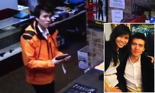 หลักฐานชัด! หนุ่มฝรั่งไปซื้อปืน 2 วันก่อนยิงสาวไทย