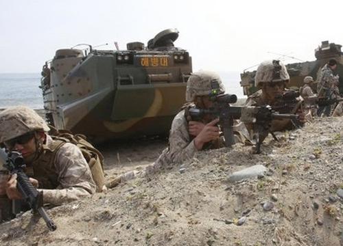 เกาหลีเหนือยิงขีปนาวุธตอบโต้ซ้อมรบสหรัฐฯเกาหลีใต้