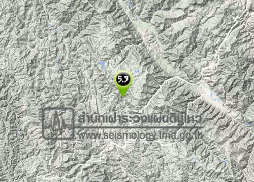 ศภช.รายงานดินไหวยูหนาน5.9Rไม่กระทบไทย