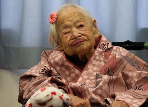 หญิงชราญี่ปุ่นครองสถิติอายุมากสุดในโลก