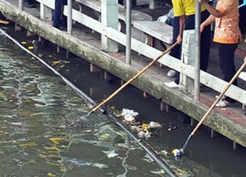 เขตประเวศรณรงค์จัดการขยะน้ำเสียย่านคลอง