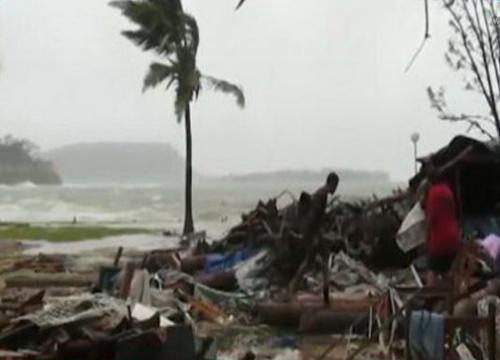 วานุอาตูเริ่มฟื้นหลังพายุไซโคลนถล่มยับ