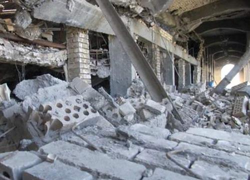 ISISปะทะกองทัพอิรักสุสานฝังศพซัดดัมพังยับ