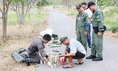 พบระเบิด-กระสุนปืนสงคราม ทิ้งป่าใกล้ที่ประชุม ครม.สัญจรหัวหิน
