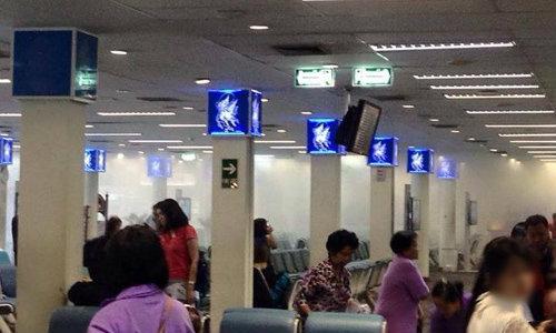 ควันโขมงสนามบินหาดใหญ่ เหตุไฟฟ้าลัดวงจร