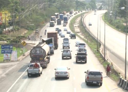 ขนส่งเผยสงกรานต์ตรวจจับคนขับรถเร็วกว่ากำหนดกว่า2.4พันคัน
