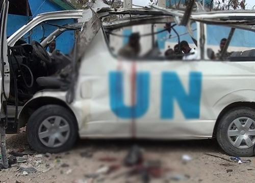 อัลชาบับวางบึ้มรถตู้UNในโซมาเลีย-จนท.UNดับ7