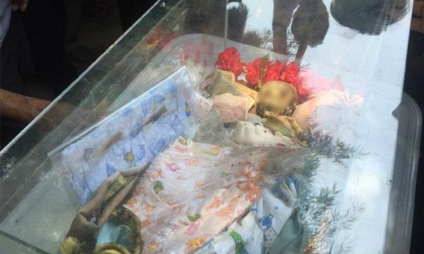 ขุดพบแล้วเด็กในโลงแก้ว ฝังใต้ฐานพระพรหม