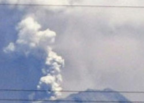 ภูเขาไฟในคอสตาริก้าปะทุ-ปิดสนามบิน