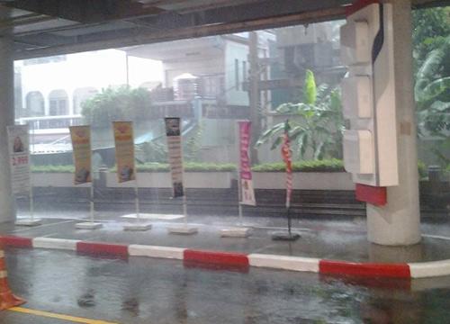 เรดาร์กทม.ตรวจสอบพบฝนอ่อนในหลายพื้นที่