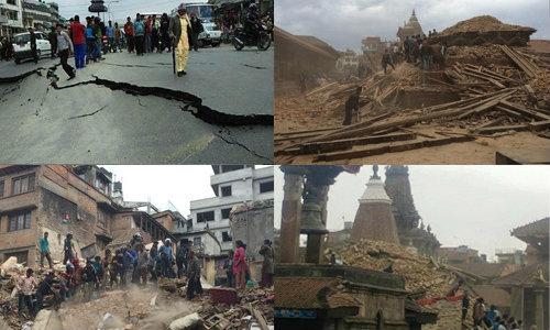 CNN เผย แผ่นดินไหวเนปาล สังเวยชีวิต 1,805 คนแล้ว