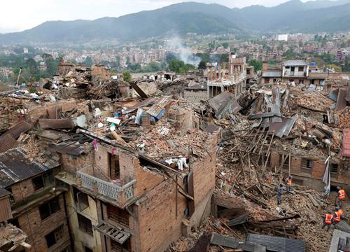 ยอดดับดินไหวเนปาล4,310เจ็บกว่า8,000คน