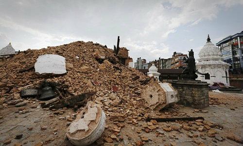 แผ่นดินไหวเนปาล ขยับเมืองหลวงเลื่อนลงใต้ 3 เมตร