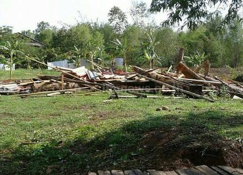 พายุถล่มลำปางชาวบ้าน400หลังคารับผลกระทบ