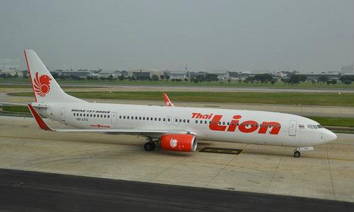 สายการบิน Lion Air ตกร่องพื้นรันเวย์ สนามบินหาดใหญ่