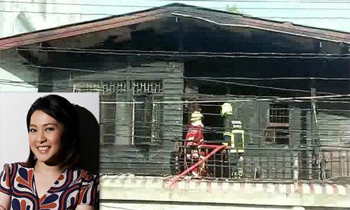 ระทึก! ไฟไหม้บ้านพ่อแม่ผู้ประกาศช่อง 3