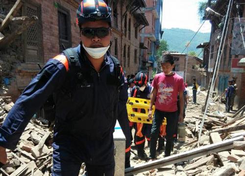 ทหารไทยผนึกกำลังทีมกู้ภัยต่างชาติเข้าค้นหาปชช.