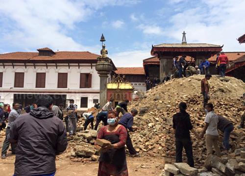 เหยื่อดินไหวเนปาลตายพุ่ง7,659ศพเจ็บ14,536คน