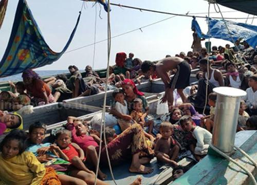 ประมงอินโดฯช่วยผู้อพยพกว่า426คนจากเมียนมาร์