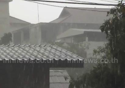 ภาคใต้มีฝนตกหนักบางแห่ง-กทม.ฝนร้อยละ30