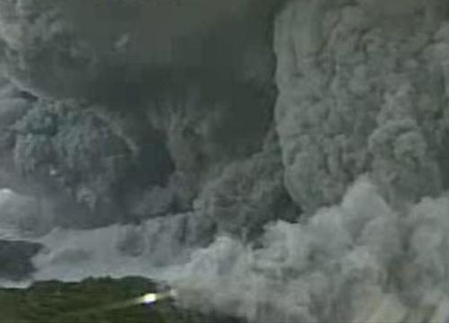 ภูเขาไฟลูกเล็กภาคใต้ญี่ปุ่นปะทุ -ไร้เจ็บตาย