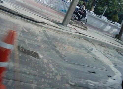 ถ.เพชรเกษมยุบเป็นระยะทางยาว20เมตรทำรถติด