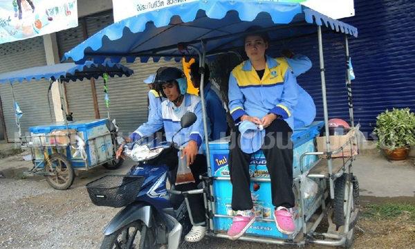 สาวลูกครึ่งไทย-อเมริกัน ขายนมเลี้ยงแม่-ยาย ส่งเสียตัวเองเรียน ประกาศหาพ่ออดีตทหาร