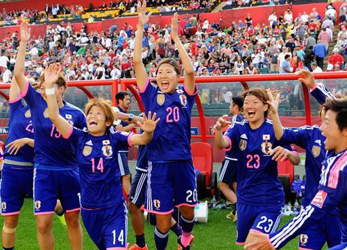 ญี่ปุ่นชนะอังกฤษ2-1ลิ่วบอลโลกหญิงชนสหรัฐ