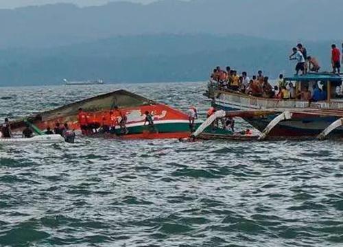 เรือข้ามฟากปินส์ล่มดับ36รายสูญหาย19ราย