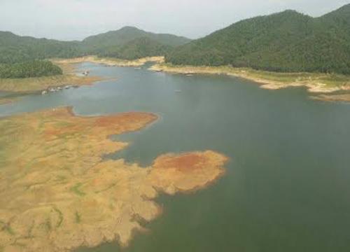 ก.เกษตรฯบินสำรวจน้ำในเขื่อนเชียงใหม่