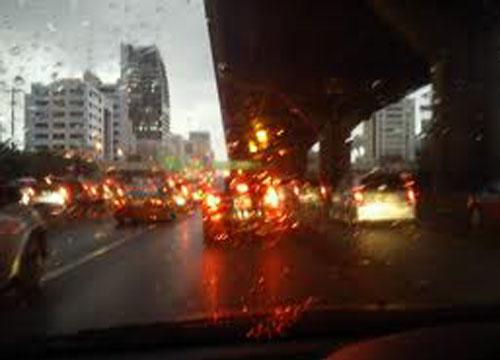 พยากรณ์ช่วงเที่ยงไทยมีฝนเพิ่มขึ้น-กทม.60%