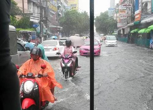 อุตุเผยช่วงเย็นไทยตอนบนยังมีฝน-กทม.60%