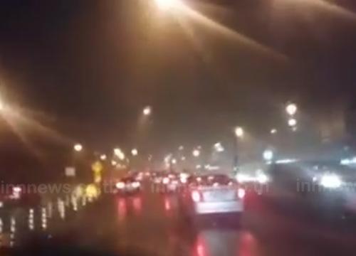 ฝนถล่ม กทม. รัชดา พระราม4 จราจรหนึบ